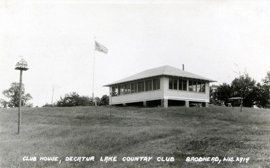 old photo decatur lake country club