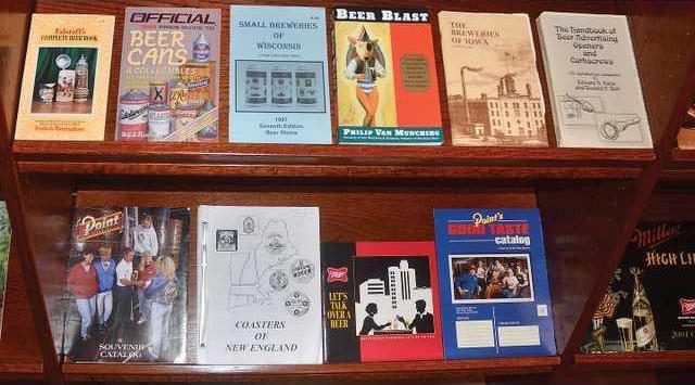 museum bookshelf