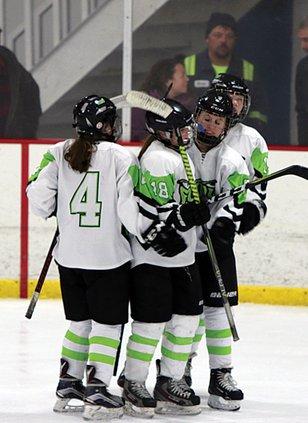 Haley goal celly