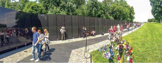 Honor Flight Vietnam memorial
