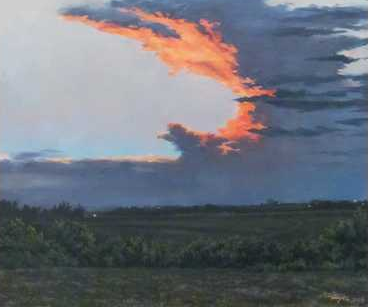 Heyer Anvil Cloud at Sunset