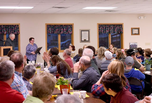 Dairy Banquet Draws a Crowd