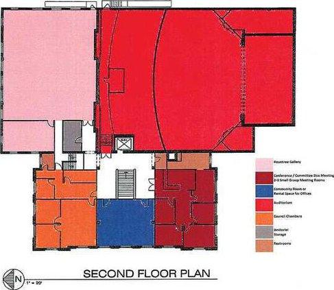 mun building 2nd floor plan