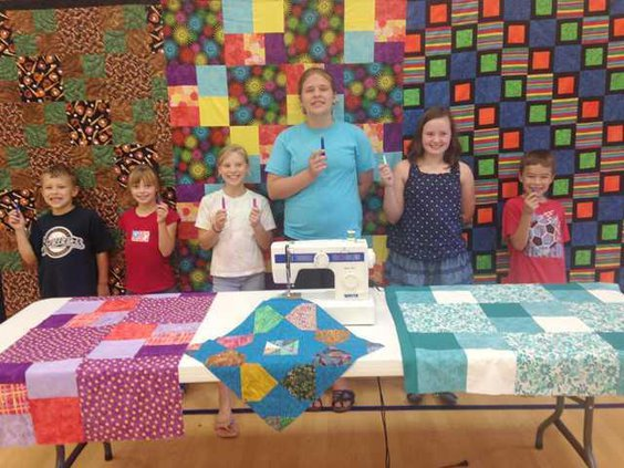 kids quilting group