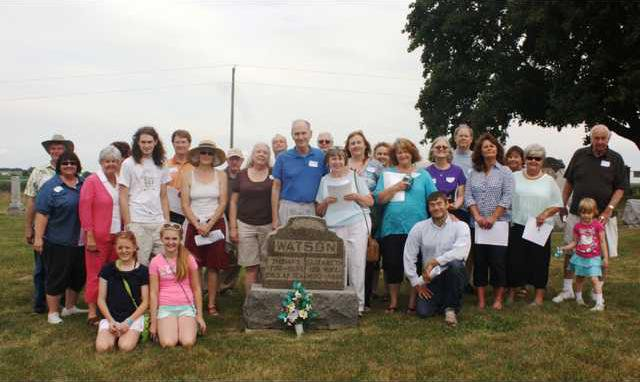Ancestors at Rock Church Cemetery Grave
