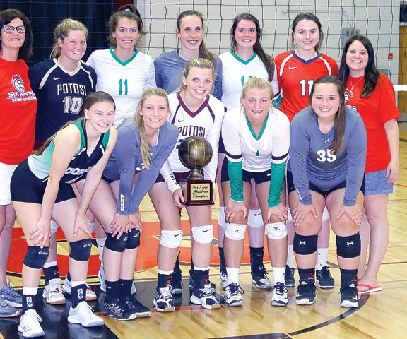 West VB winners