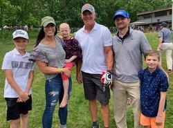 Wilson family meets Brett Favre