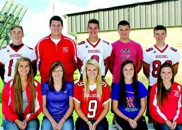 Boscobel Homecoming Court
