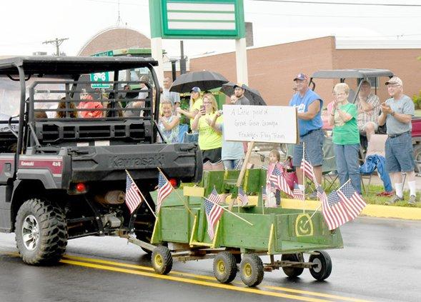 Parade at Ridge & Valley Rally