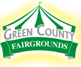 green county fair stock logo